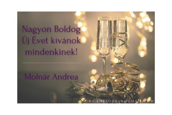 Boldog Új Évet kívánok mindenkinek!